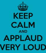 applaud